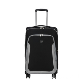 Ultra - muted black Oxford luggage case