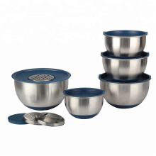 Professional for Mixing Bowl Set Premium Food Grade Deep Mixing Bowl With Graters export to Portugal Exporter
