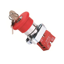 XB2-BS142 Pushbutton Switch with Key
