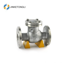 JKTLPC015 vertical flapper stainless steel flow control 6 inch check valve