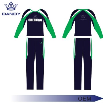 Low Price College Cheering Squad Uniform For Boys