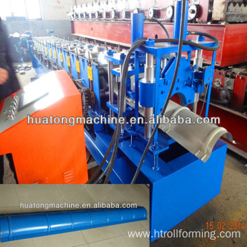 300 Color Steel Roof Ridge Tile Used Roll Forming Machine