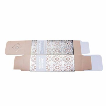 Hot stamping Folding Carton Square Care Paper Box