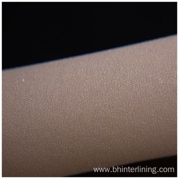 Enzyme washing polyester woven fusible interlining for dress