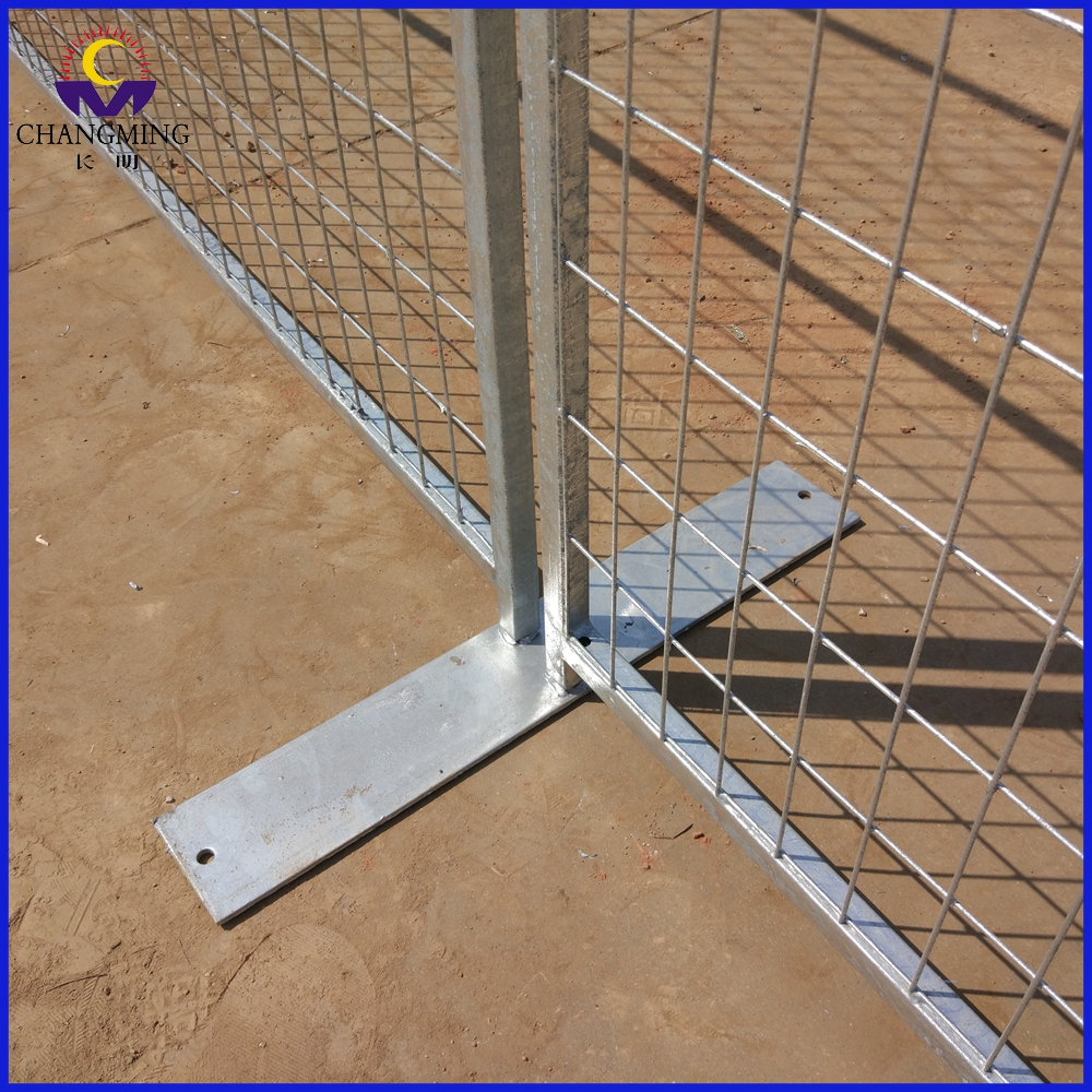 temporary construction fence panels