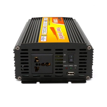 Metal-Build Black Color High Efficiency 1200W Inverter