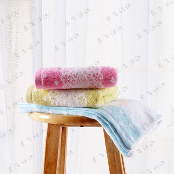 Flower Pattern  face Towel