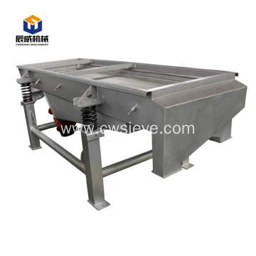 Single and double layer linear vibrating screen
