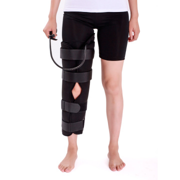 Cold Air Compression Therapy Knee Immobilizer Brace