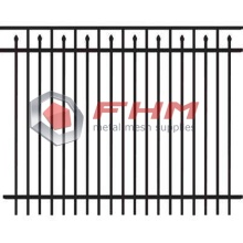 High Quality for Picket Fencing Decorative Wrought Steel Picket Fences Panels export to India Supplier