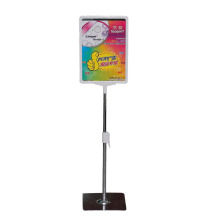 metal price poster holder display stand with frame