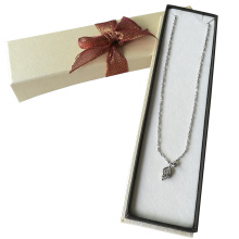 Silver Stamping Storage Jewellery Necklace Paper Box