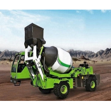 Factory provided 3.6 m3 concrete mixer truck