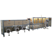 Card Roll Sheet Cutting and Hole Punching Machine