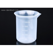 High Quality for 100 Ml Graduated Cylinder Plastic Beaker 250ml export to Seychelles Manufacturers