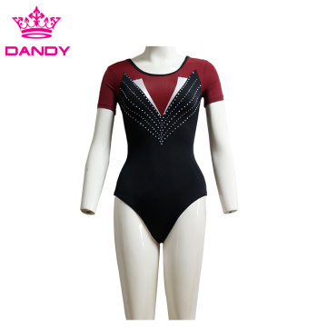 Germên Rhythmic Gymnastics Shot Diamond Cloth Leotard