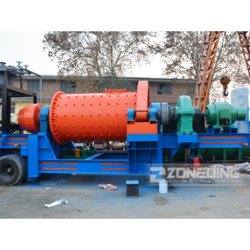 New Type Mining Mobile Ball Mill For Sale
