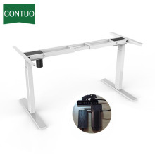 Low Cost for Single Motor Standing Desk Height Standing Computer Adjustable Home Office Desk India supply to Mauritius Factory