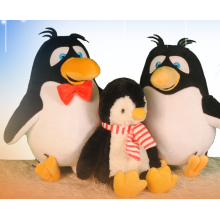 Happy penguin family plush toys