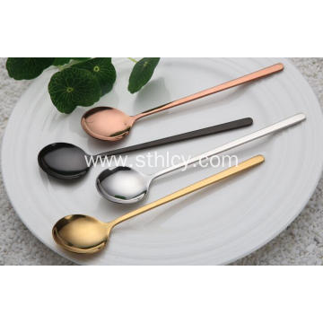 Colorful 304 Stainless Steel Spoon for Coffee
