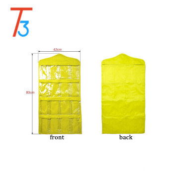 16 Pockets Wall Door Closet Hanging Storage bag organizer