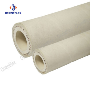 White color food delivery washdown hose