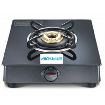 Black Table Marvel Glass Top Gas Stove