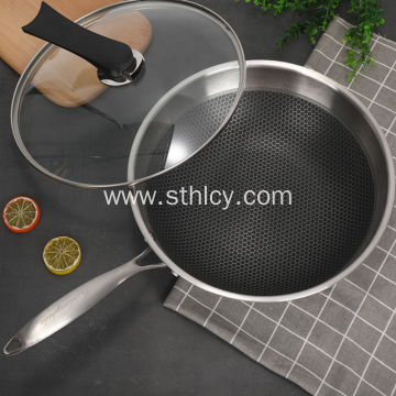 Stainless Steel Frying Pan Without Soot