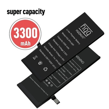 Rechargeable high capacity 3300mAh iPhone 6s plus battery