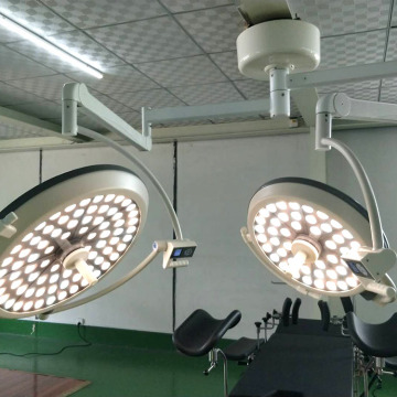 Double head suspended led shadow lamp