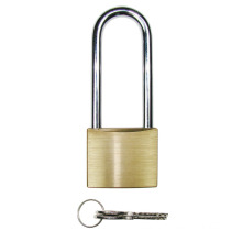 50mm High Quality Brass Padlock with long-shackle