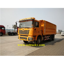 Fast Delivery for 30 Tons Dump Trucks SHACMAN 375HP 10 Wheeler Self-loading Dump Trucks export to Tajikistan Suppliers