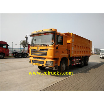 SHACMAN 375HP 10 Wheeler Self-loading Dump Trucks
