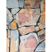 China Factory for Offer Paving Stone Mats,Paving Stones,Step Stones From China Manufacturer Natural Rusty Slate Paving Stone for Floor supply to Indonesia Factory