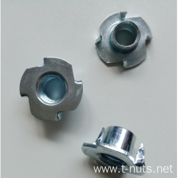Flanged Base Hammer 4 Pronged Tee Nut