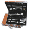 Stainless Steel Barbecue Tools Set with Gift Case