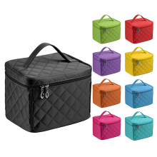 Nylon Cosmetic Bags Single Layer Travel Makeup Bags