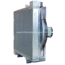 China Exporter for Compressor Gas Cooler and Radiator Assembly Funke Air Compressor Aluminum Plat-Bar Water Cooler export to Cote D'Ivoire Exporter