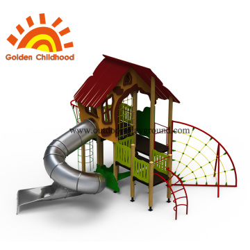 Fun Facility Outdoor Playground Equipment For Children