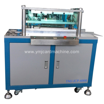 Smart Card Manual Half Auto Hole Punching Machine