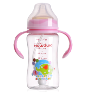 300ml Baby Tritan Nursing Milk Bottles Holder