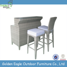New Comfortable Rattan bar counter table