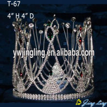 Custom Full Round Rhinestone Pageant Crowns