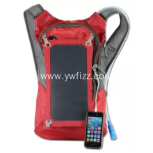 Outdoor multi-functional solar backpack with shoulders