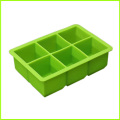 OEM Square Shaped Silicone Ice Cube Tray