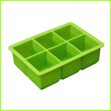 Top Suppliers for Ice Cube Trays Shapes OEM Square Shaped Silicone Ice Cube Tray export to Bermuda Factory