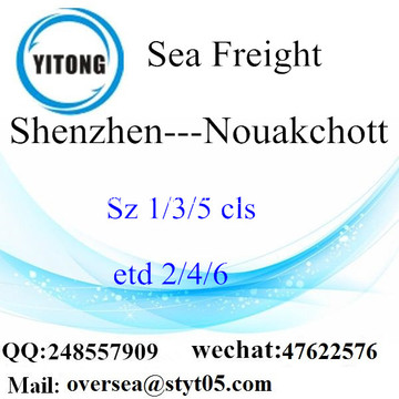 Shenzhen Port LCL Consolidation To Nouakchott