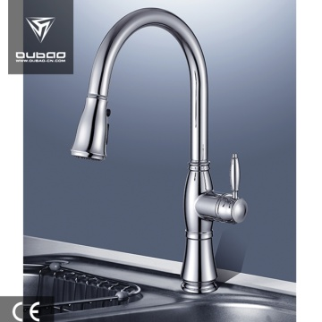 Polished Chrome One Handle Vessel Sink Kitchen Faucet
