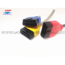Good Quality for OBD2 Diagnostic Connectors Molded OBD Female Connector export to Spain Suppliers