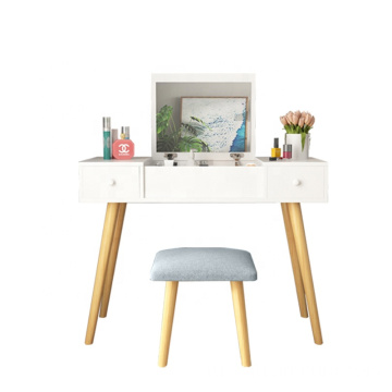 Girls Modern makeup mirrored dressing table